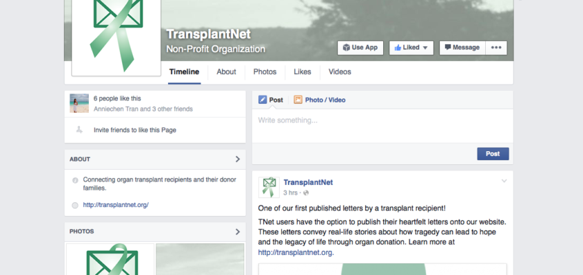 TNet now has a Facebook page! (Hint: see topbar)